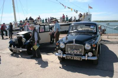 Various prized cars were on display Image Ann MacGillivray