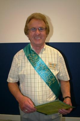 Barry Gilbert CoSS member was one of the stewards welcoming the 12000 visitors Image Ann MacGillivray