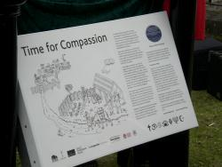 Time for Compassion, the Information Lectern unveiled 10th May 2013 image Will Temple