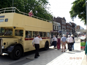 Heritage Guy Arab bus Southampton image courtesy Will Temple